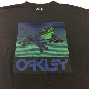 Oakley Men's Frog Logo Short Sleeve T-Shirt Black